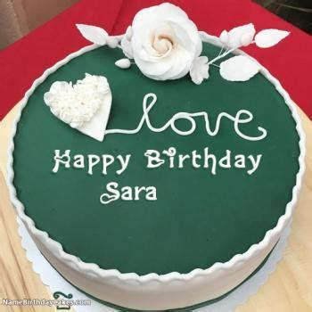 happy birthday sara video  images