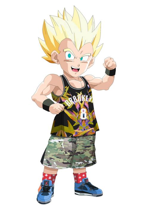 gotrunk dragon ball  en air jordan  eminem