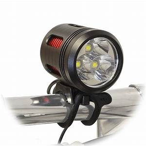 Bicycle Headlight Set With Helmet Mount Led 3000 Lumen