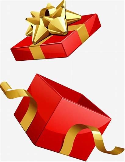 Gift Open Clipart Transparent Empty Presente Caixa