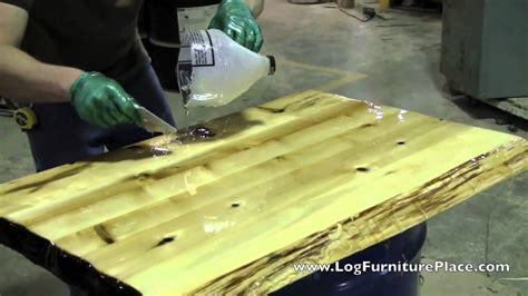 liquid glass for table top how liquid glass finish is applied on cabin furniture at