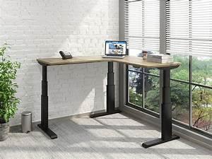 Newheights U2122 Corner Height Adjustable Standing Desk