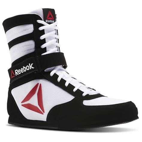 Reebok Boat Shoes by Reebok Boxing Boot Buck White Reebok Us