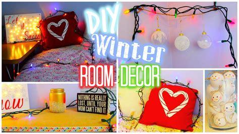 diy winter holiday room decor collab  hayley