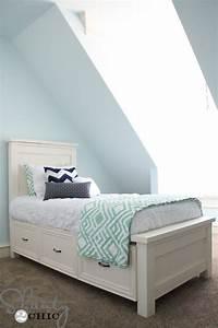 diy platform bed with storage underneath Quick