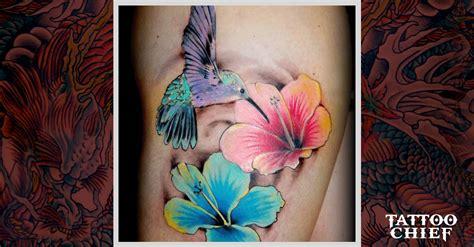 unique hummingbird tattoo hummingbird leg tattoo