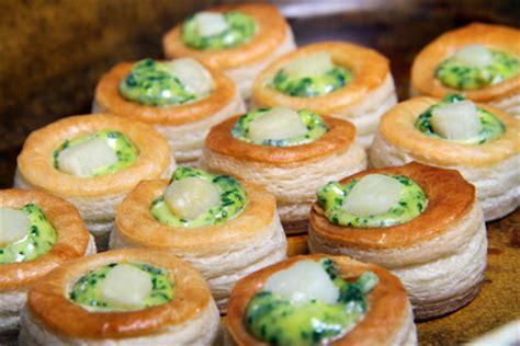 faisan cuisine mini feuilletés de st jacques une recette d 39 entrée facile
