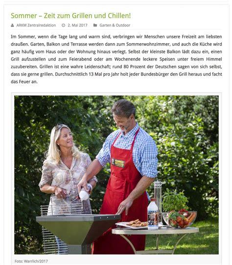Sommer  Zeit Zum Grillen Und Chillen  Carl Warrlich Gmbh