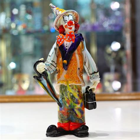 traveller clown  murano glass muranonet  store