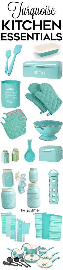 turquoise kitchen decor appliances