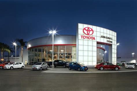 john elways crown toyota ontario ca   car