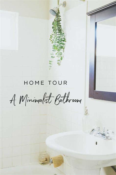 Minimalist Bathroom Essentials