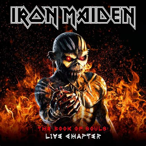 Image result for iron maiden live book of souls
