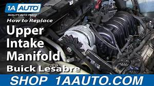 How To Replace Install Upper Intake Manifold 1996