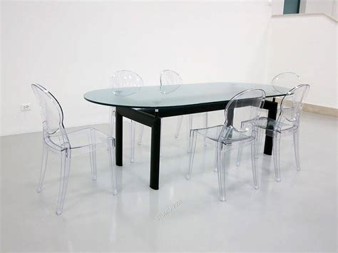 Le Aus Glas by Tisch Le Corbusier Aus Metall Und Glas