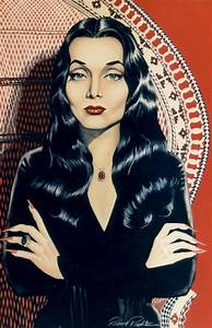 Morticia - Garage Art (by minkshmink on pinterest) - The ...