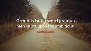 Marcus Licinius... Marcus Crassus Famous Quotes