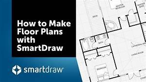 Floor Plan Creator : how to make floor plans with smartdraw 39 s floor plan creator and designer youtube ~ Eleganceandgraceweddings.com Haus und Dekorationen