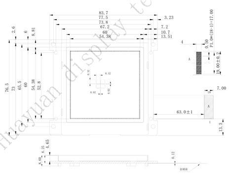 graphic modbus lcd display modulelcd display