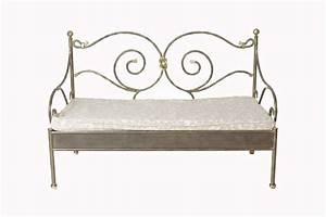 banquette fer forge alinea 28 images banquette en fer With tapis de sol avec canapé de jardin fer forgé