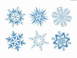 Set of snowflakes | PSDGraphics