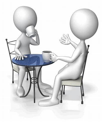 Table Talk Clipart Coffee Stick Animation Figure