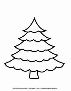 Printable Christmas Tree Templates Happy Holidays