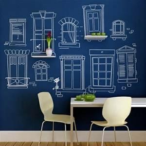 Farbe An Wand : tolle wandgestaltung mit farbe 100 wand streichen ideen ~ Markanthonyermac.com Haus und Dekorationen