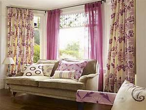sweet window curtain design ideas pink color soft privyhomes With design curtains for living room