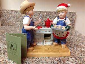 homco home interiors new denim days cookies for santa figurine home interiors