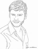 Coloring Famous Actor Boys Printable Adult German Daniel Colouring Realistic Drawing Bruhl Drawings Actress Face Getcolorings sketch template