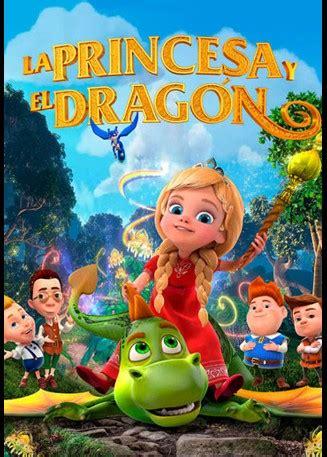 la princesa  el dragon cinescape