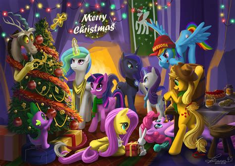 fim christmas store 2014 mlp merry by seer45 on deviantart