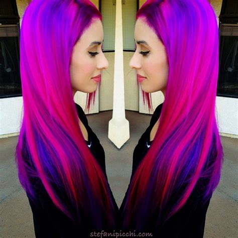 If you're thinking about following funky hair color trends, there are many unique options to try. Pin by Stefani Picchi on Crayola Magic | Funky hair colors ...