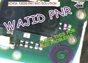 Nokia 1203 Mic Problem Mic Jumpers Mic Solutions Mic Ways