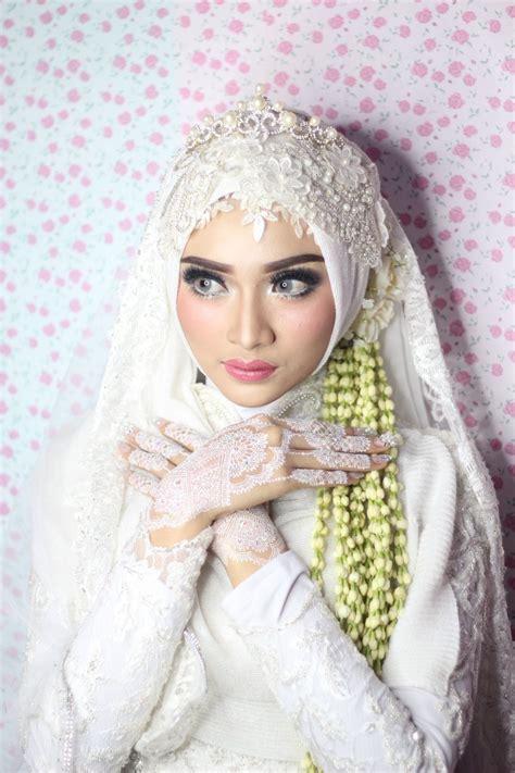 latest update gambar tutorial hijab  akad nikah terbaru maret