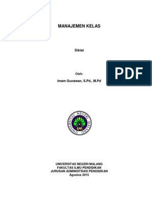 All formats available for pc, mac, ebook readers and other mobile devices. Buku Manajemen Kelas Untuk Guru Sekolah Dasar Pdf ...