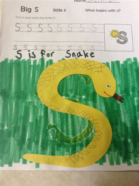 letter s craft for preschool 642 | 47f36abbb0490da83478824253c3059d