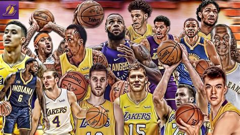 los angeles lakers   roster mix highlights