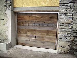 Porte De Garage Bois : menuizea fermetures en savoie 73 volets portes de garage ~ Melissatoandfro.com Idées de Décoration