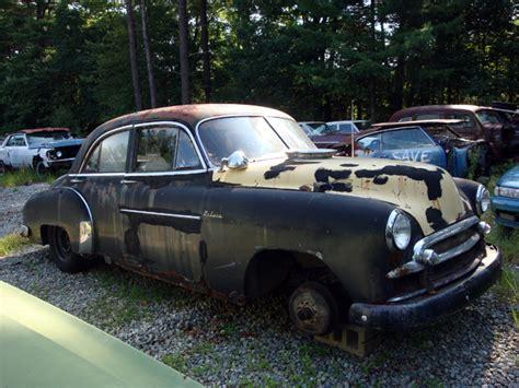 Vintage Chevy Auto Parts Yard, Vintage Chevy Car Parts