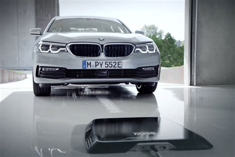 bmw wireless charging bmw previews wireless charging for 2018 on 530e