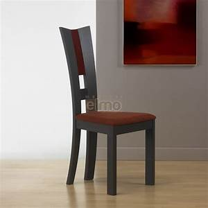 chaise salle a manger moderne hetre massif de france flora With salle À manger contemporaine avec chaise salle a manger marron