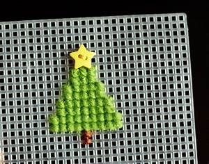 Holiday ABC Series: X is for Cross-Stitch Make and Takes