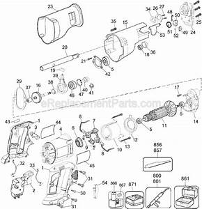 Dewalt Dw938 Parts List And Diagram