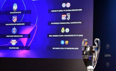Последние твиты от uefa champions league (@championsleague). Así se jugarán los 4tos de final de la Champions League
