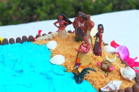 How to make a Moana Birthday Cake