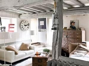 Deco Pour Salon : deco campagne cosy d co campagne country decor pinterest vintage space chang 39 e 3 and ~ Teatrodelosmanantiales.com Idées de Décoration