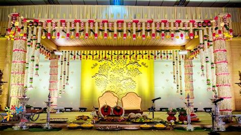 Image Result For South Indian Wedding Stage Decoration