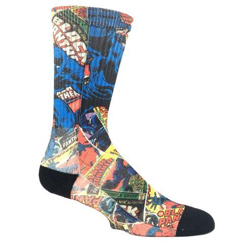 Printed Socks marvel black panther printed socks